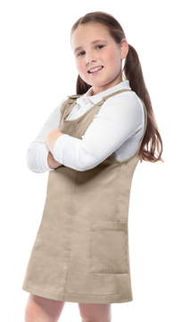 Picture of Classroom Uniforms Girls Youth Princess Seam Jumper
