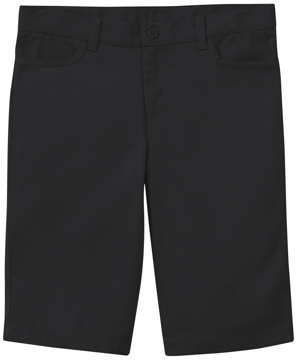"""Picture of Classroom Uniforms Girls Stretch """"Matchstick"""" Shorts"""
