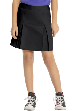 Picture of Real School Uniforms Youth Plus Pleat Front Scooter