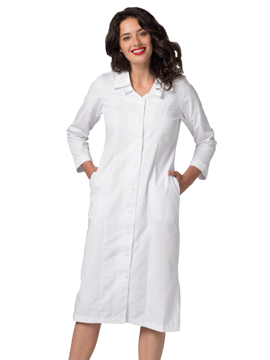 Picture of Adar Universal Women's Double Embroidered Collar Dress